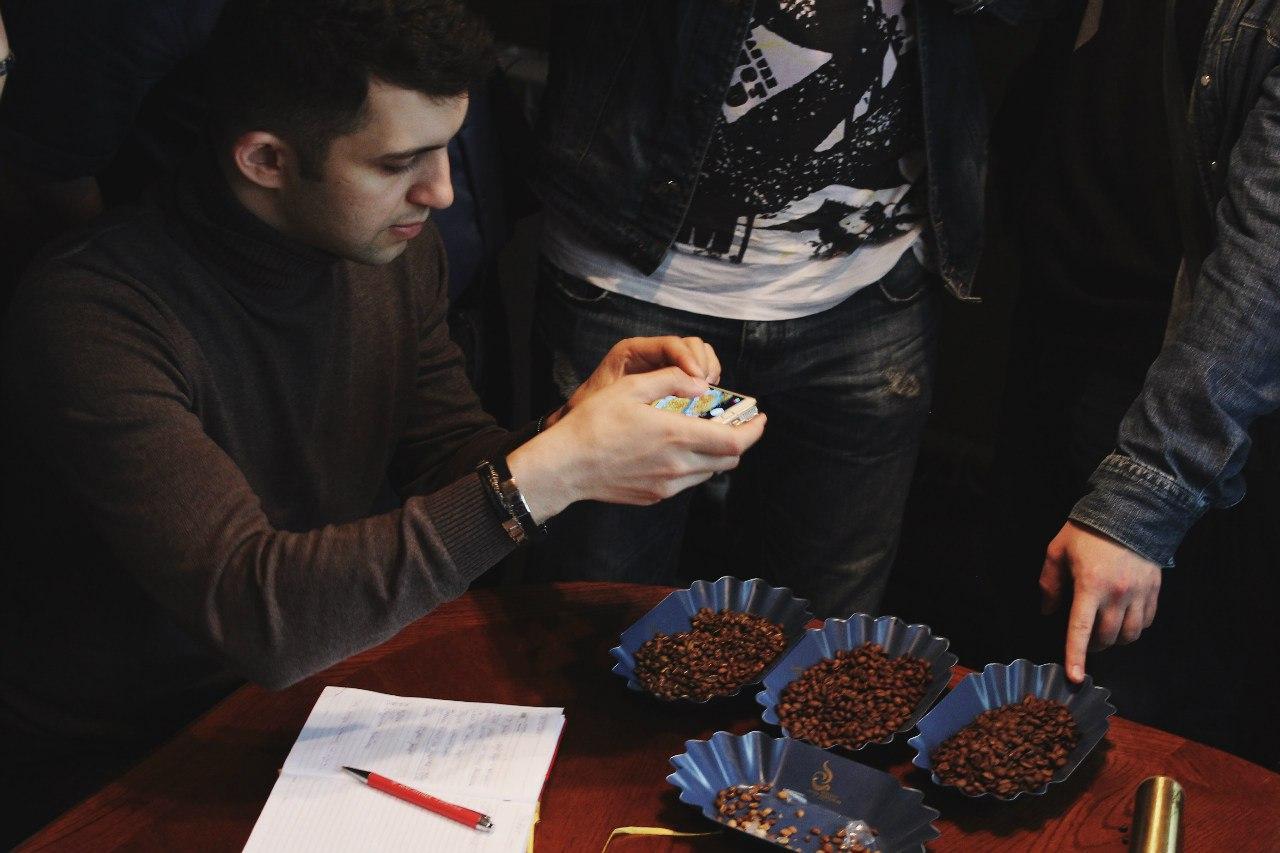 Семинар по обжарке кофе в Лиге бариста