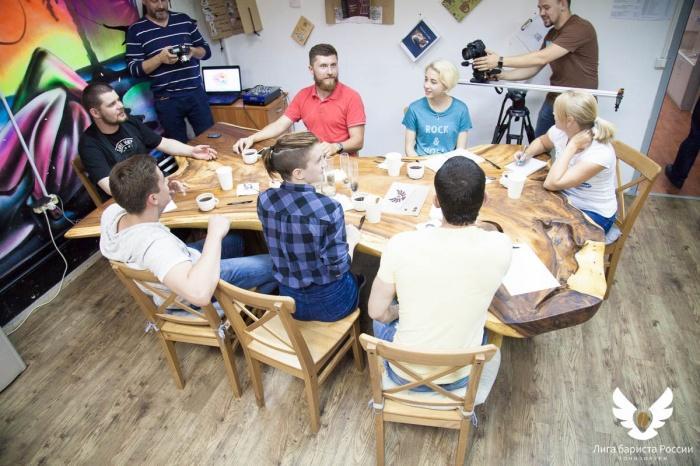 Как проходят занятия в школе Лиги бариста: теория и практика