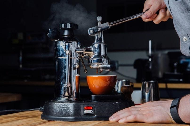 Леверные кофемашины