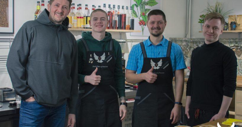 Латте-арт с двукратным чемпионом России